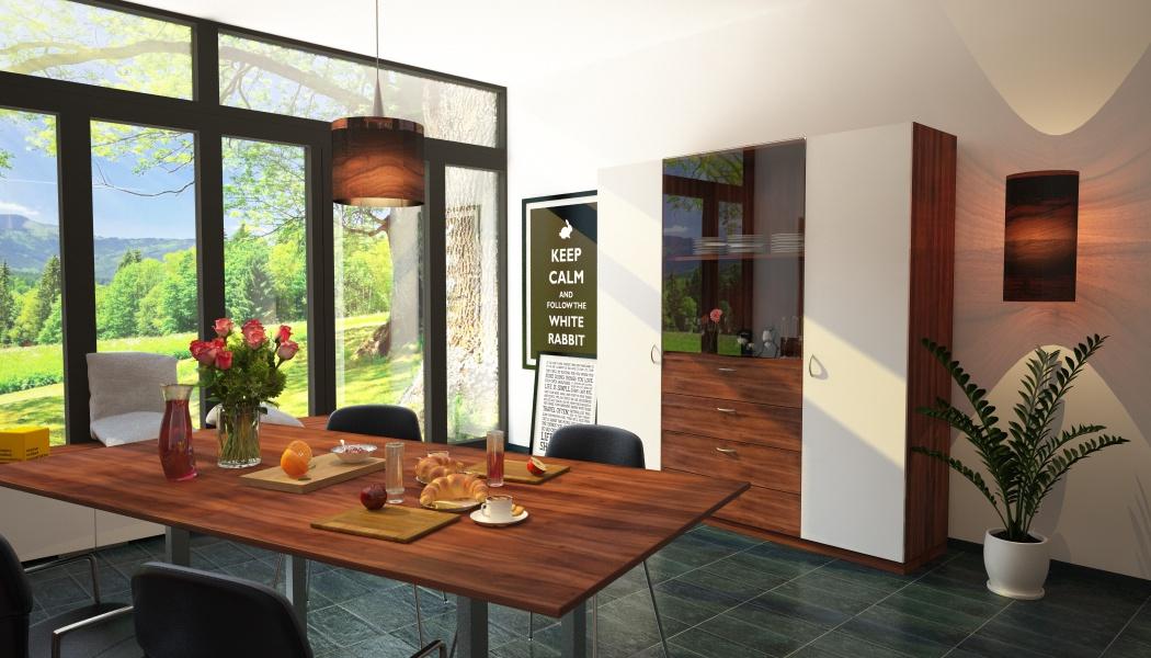 glasvitrinenschrank meine m belmanufaktur. Black Bedroom Furniture Sets. Home Design Ideas