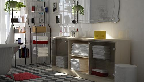 Badezimmerregale aus Holz | meine möbelmanufaktur