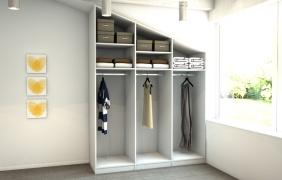 kleiderschrank unter schr gen meine m belmanufaktur. Black Bedroom Furniture Sets. Home Design Ideas