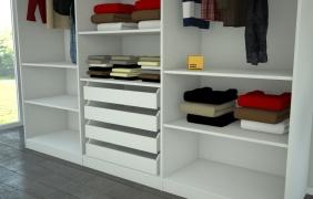 kleiderschrank mit innenliegenden schubladen meine m belmanufaktur. Black Bedroom Furniture Sets. Home Design Ideas