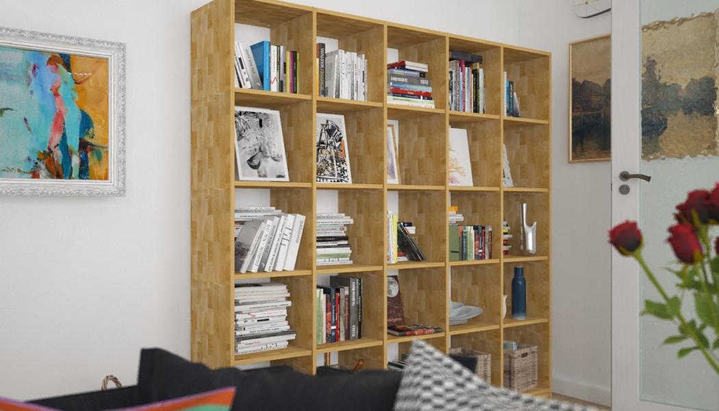 b cherregal f rs kinderzimmer in massivholz eiche meine m belmanufaktur. Black Bedroom Furniture Sets. Home Design Ideas