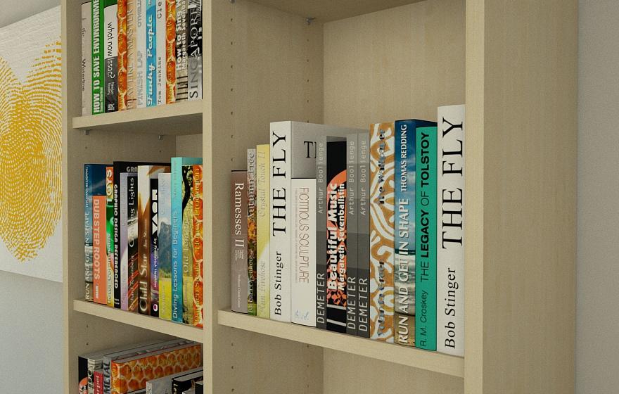 regal ahorn gallery of billy bcherregal braun braun jetzt. Black Bedroom Furniture Sets. Home Design Ideas