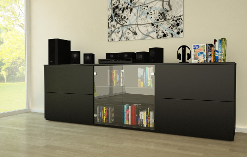 cd dvd schrank meine m belmanufaktur. Black Bedroom Furniture Sets. Home Design Ideas