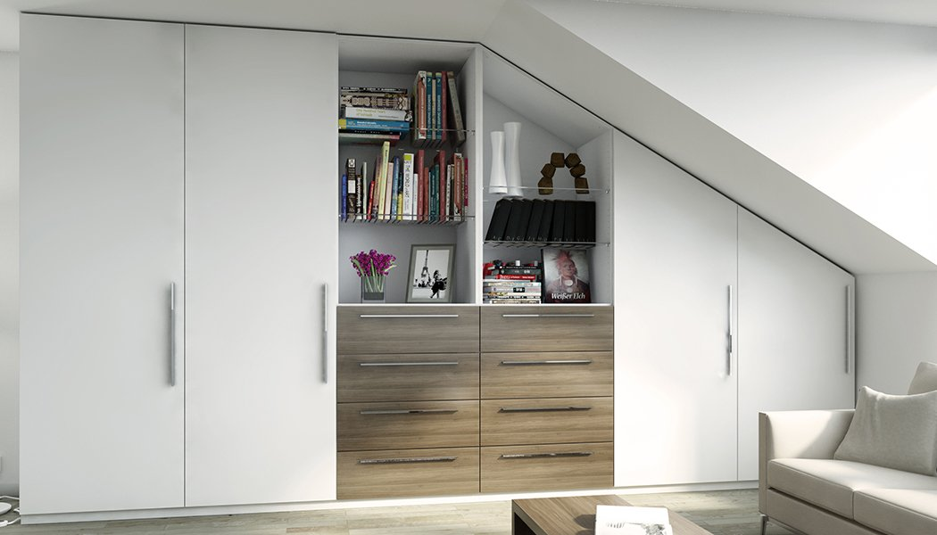 dachschr genschrank meine m belmanufaktur. Black Bedroom Furniture Sets. Home Design Ideas