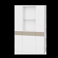 Einbauschrank - Schrank 3-teilig mit Schubladen