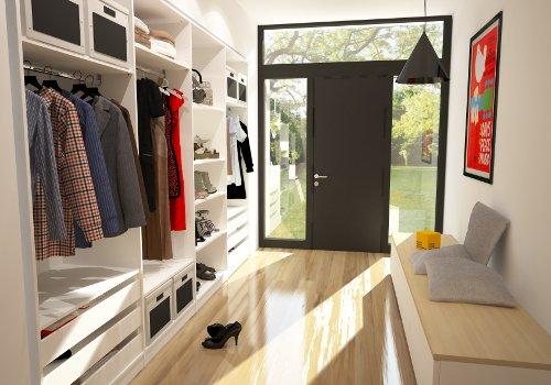 einbauschrank-nach-mass-garderobe | meine möbelmanufaktur