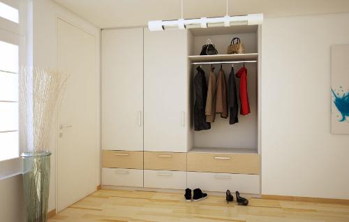 garderobenm bel nach ma meine m belmanufaktur. Black Bedroom Furniture Sets. Home Design Ideas