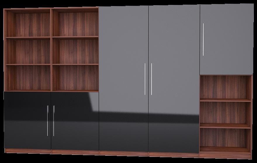 holzschrank aus nussbaum nach ma meine m belmanufaktur. Black Bedroom Furniture Sets. Home Design Ideas