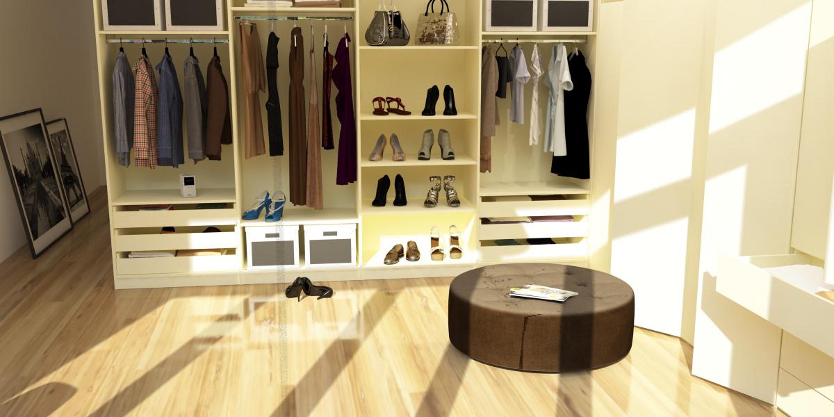 kleiderschrank selber bauen im ankleidezimmer meine. Black Bedroom Furniture Sets. Home Design Ideas