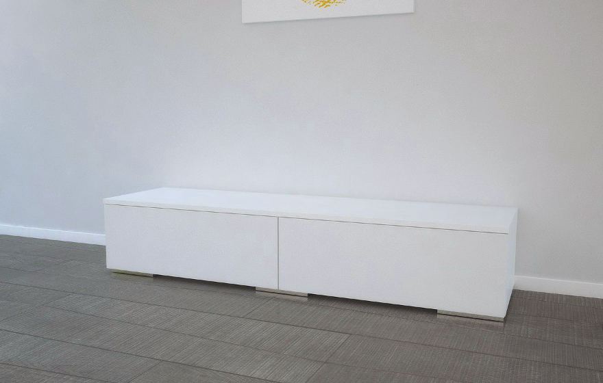 lowboard wei schubladen inspirierendes. Black Bedroom Furniture Sets. Home Design Ideas
