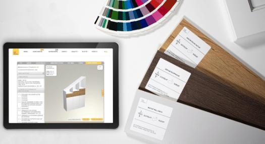Muster, Material und RAL Farben für Mattlacke und Hochglanzlack