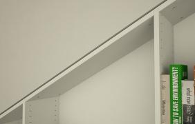 regalsystem f r dachschr gen meine m belmanufaktur. Black Bedroom Furniture Sets. Home Design Ideas
