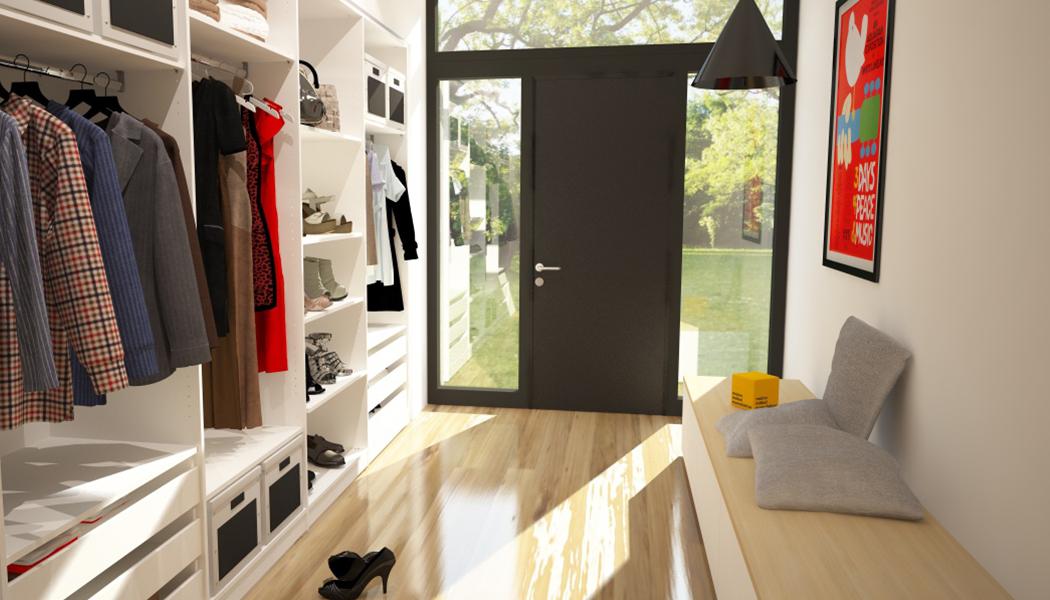 Kleiderschrank flur home ideen for Garderobenschrank kleiner flur
