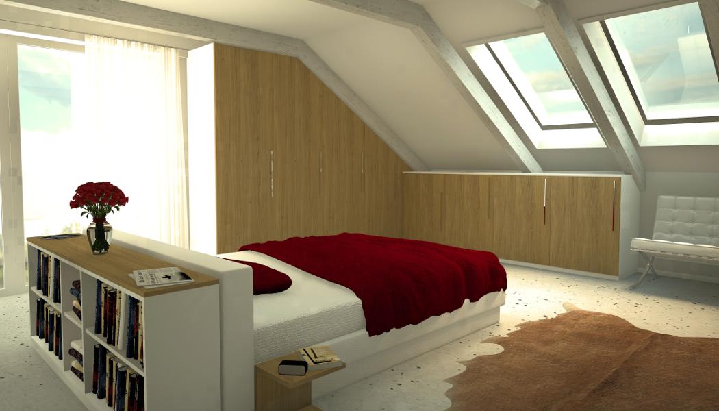 Schlafzimmer Kommode Für Die Dachschräge