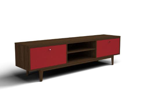 Schlafzimmer Kommode als Kombinationskommode mit Holz-Nachbildung