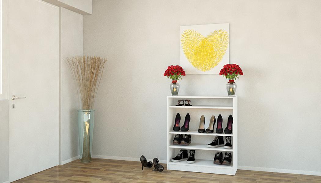 schuhschrank schmal hoch schmale garderobe im flur spart. Black Bedroom Furniture Sets. Home Design Ideas