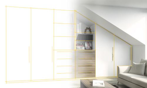 schrank selber gestalten meine m belmanufaktur. Black Bedroom Furniture Sets. Home Design Ideas