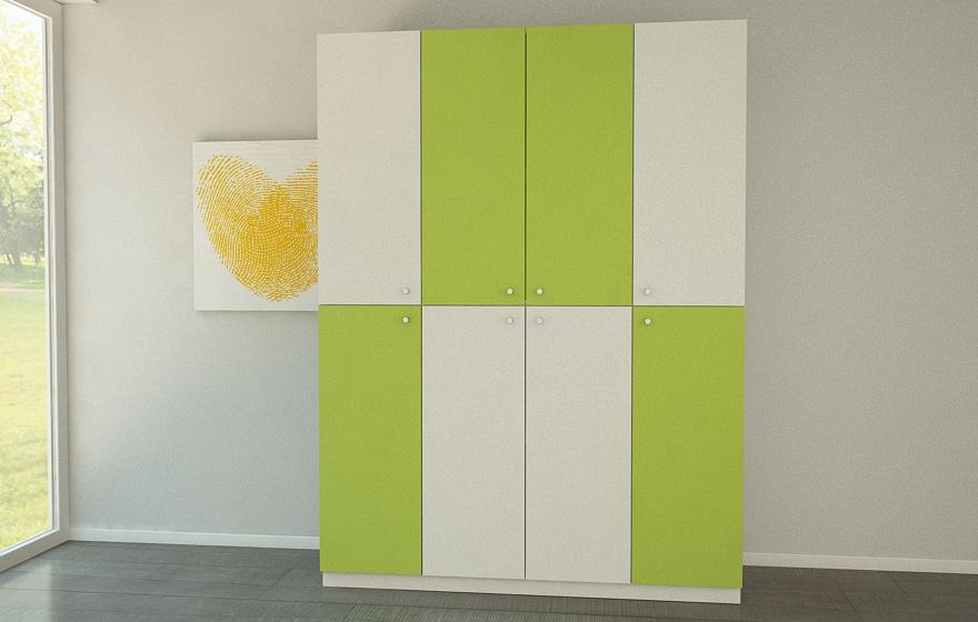 schrank in trendfarbe meine m belmanufaktur. Black Bedroom Furniture Sets. Home Design Ideas