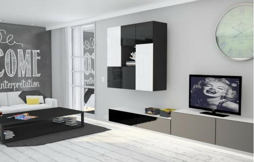 schrankwand wohnzimmer | meine möbelmanufaktur, Wohnzimmer