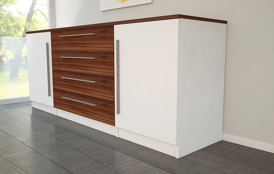sideboard in hochwertigen materialien meine m belmanufaktur. Black Bedroom Furniture Sets. Home Design Ideas