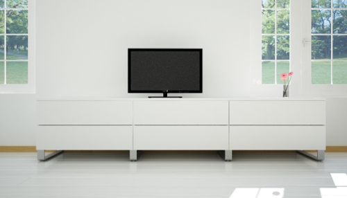 Sideboard Manufaktur Weiß TV