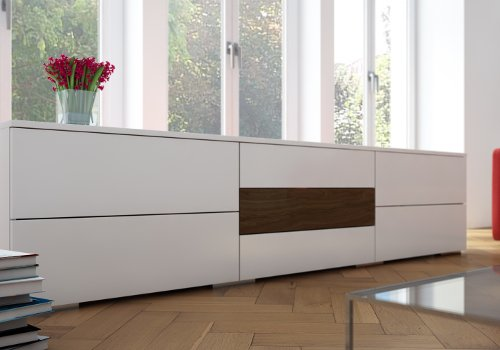 tv sideboard h ngend inspirierendes design f r wohnm bel. Black Bedroom Furniture Sets. Home Design Ideas