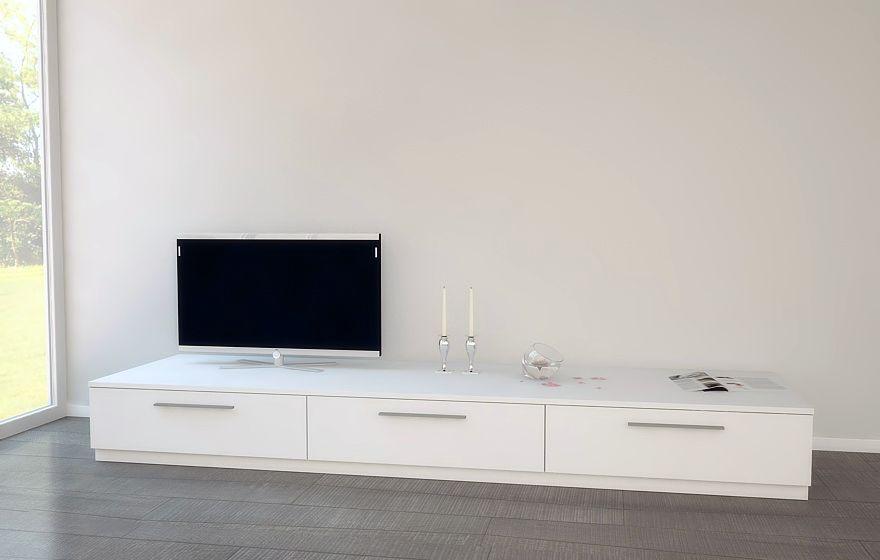 lowboard in wei meine m belmanufaktur. Black Bedroom Furniture Sets. Home Design Ideas