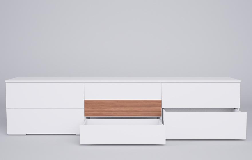 Sideboard Mit Unterschiedlichen Schubladen Meine Mobelmanufaktur