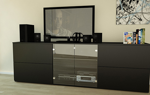 tv regal meine m belmanufaktur. Black Bedroom Furniture Sets. Home Design Ideas