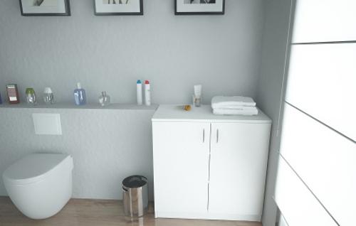 Unterschrank nach Maß als Waschbeckenunterschrank
