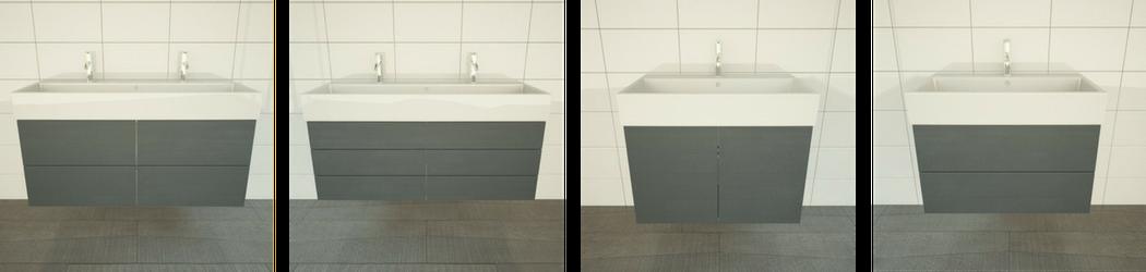 Waschtischunterschrank Varianten