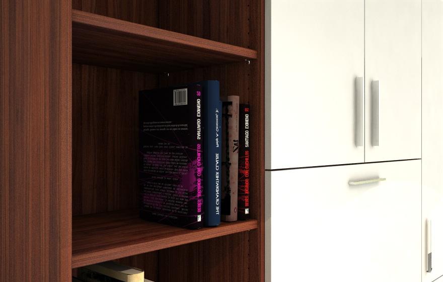 Wohnzimmerschrank Nussbaum | meine möbelmanufaktur